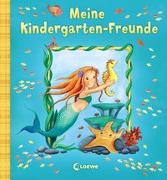 Cover-Bild zu Meine Kindergarten-Freunde (Meermädchen) von Loewe Eintragbücher (Hrsg.)