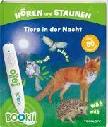 Cover-Bild zu BOOKii® Hören und Staunen Tiere in der Nacht von Oftring, Bärbel