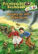 Cover-Bild zu Das magische Baumhaus junior 21 - Rettung vor dem Wirbelsturm von Pope Osborne, Mary