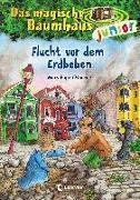 Cover-Bild zu Das magische Baumhaus junior 22 - Flucht vor dem Erdbeben von Pope Osborne, Mary