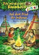 Cover-Bild zu Das magische Baumhaus junior 16 - Auf dem Pfad der Indianer von Pope Osborne, Mary