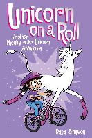 Cover-Bild zu Unicorn on a Roll (Phoebe and Her Unicorn Series Book 2) (eBook) von Simpson, Dana