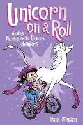Cover-Bild zu Unicorn on a Roll (Phoebe and Her Unicorn Series Book 2) von Simpson, Dana