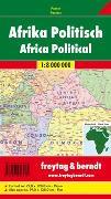 Cover-Bild zu Afrika physisch-politisch. 1:8'000'000 von Freytag-Berndt und Artaria KG (Hrsg.)