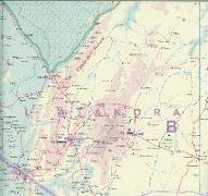 Cover-Bild zu Togo / Benin 1:530 000. 1:580'000