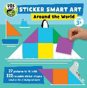 Cover-Bild zu Sticker Smart Art: Around the World von PBS KIDS (Geschaffen)