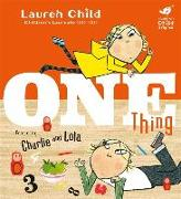 Cover-Bild zu One Thing von Child, Lauren