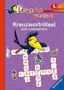 Cover-Bild zu Kreuzworträtsel zum Lesenlernen (1. Lesestufe), lila von Merle, Katrin