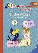 Cover-Bild zu Sticker-Rätsel zum Lesenlernen (1. Lesestufe), blau von Merk, Lena