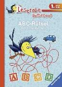 Cover-Bild zu ABC-Rätsel zum Lesenlernen (1. Lesestufe) von Volk, Katja