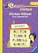 Cover-Bild zu Sticker-Rätsel zum Lesenlernen (3. Lesestufe) von Merk, Lena