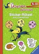Cover-Bild zu Sticker-Rätsel zum Lesenlernen (1. Lesestufe), grün von Merk, Lena