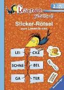 Cover-Bild zu Sticker-Rätsel zum Lesenlernen (2. Lesestufe) von Merk, Lena