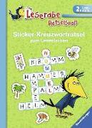 Cover-Bild zu Sticker-Kreuzworträtsel zum Lesenlernen (2. Lesestufe), grün von Johannsen, Anne