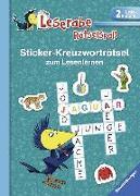 Cover-Bild zu Sticker-Kreuzworträtsel zum Lesenlernen (2. Lesestufe), türkis von Johannsen, Anne