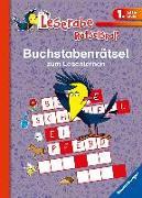 Cover-Bild zu Buchstabenrätsel zum Lesenlernen (1. Lesestufe) von Volk, Katja