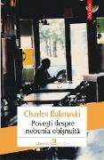 Cover-Bild zu Povesti despre nebunia obisnuita (eBook) von Bukowski, Charles