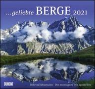 Cover-Bild zu geliebte Berge 2021 - DUMONT Wandkalender - mit den wichtigsten Feiertagen - Format 38,0 x 35,5 cm von Dumont Kalenderverlag (Hrsg.)