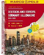 Cover-Bild zu MARCO POLO Reiseatlas Deutschland 2021/2022 1:300 000, Europa 1:4 500 000