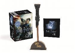 Cover-Bild zu Harry Potter Wizard's Wand with Sticker Book von Press, Running