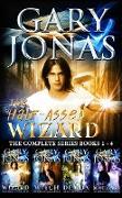 Cover-Bild zu The Half-Assed Wizard: The Complete Series Books 1-4 (eBook) von Jonas, Gary