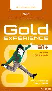 Cover-Bild zu Gold Experience B1+ eText Student Access Card von Barraclough, Carolyn