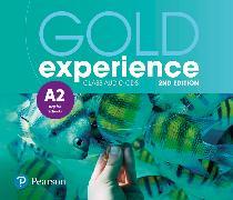 Cover-Bild zu Gold Experience 2nd Edition A2 Class Audio CDs von Alevizos, Kathryn