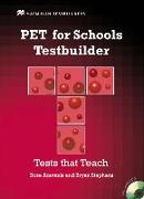 Cover-Bild zu PET for Schools Testbuilder. Student's Book with Audio-CD von Aravanis, Rosemary