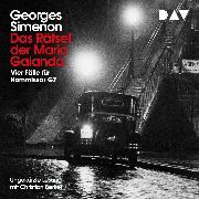 Cover-Bild zu Das Rätsel der Maria Galanda (Audio Download) von Simenon, Georges