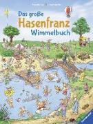 Cover-Bild zu Scheffler, Ursel: Das große Hasenfranz-Wimmelbuch