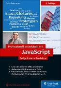 Cover-Bild zu Professionell entwickeln mit JavaScript (eBook) von Ackermann, Philip