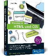 Cover-Bild zu Einstieg in HTML und CSS von Müller, Peter