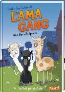 Cover-Bild zu Die Lama-Gang. Mit Herz & Spucke 1: Ein Fall für alle Felle von Schmidt, Heike Eva