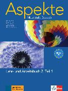Cover-Bild zu Aspekte 2 (B2) in Teilbänden - Lehr- und Arbeitsbuch Teil 1 mit 2 Audio-CDs von Koithan, Ute