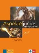 Cover-Bild zu Aspekte junior B1 plus. Kursbuch mit Audio-Dateien zum Download von Koithan, Ute
