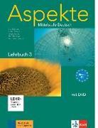 Cover-Bild zu Aspekte 3 (C1) - Lehrbuch mit DVD 3 von Koithan, Ute
