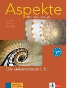 Cover-Bild zu Aspekte 1 (B1+) in Teilbänden - Lehr- und Arbeitsbuch Teil 1 mit Audio-CD von Koithan, Ute