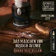Cover-Bild zu Das Mädchen von Hrusch Avenue - Geschichte aus dem Powder-Mage-Universum (Ungekürzt) (Audio Download) von McClellan, Brian