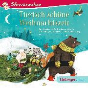 Cover-Bild zu OHRWÜRMCHEN Tierisch schöne Weihnachtszeit (Audio Download) von Parvela, Timo