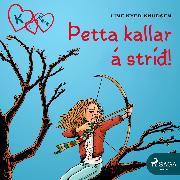 Cover-Bild zu K fyrir Klara 6 - Þetta kallar á stríð! (Audio Download) von Knudsen, Line Kyed