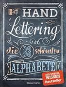 Cover-Bild zu Handlettering. Die 33 schönsten Alphabete mit Rahmen, Ornamenten und Bordüren
