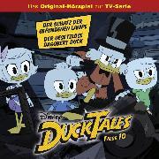 Cover-Bild zu Disney/DuckTales - Folge 10: Der Schatz der gefundenen Lampe / Der Gesetzlose Dagobert Duck (Disney TV-Series) (Audio Download) von Arnold, Monty