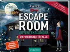 Cover-Bild zu Escape Room. Die Weihnachtsfalle. Ein Gamebuch-Adventskalender für Kinder von Eich, Eva