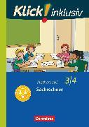Cover-Bild zu Klick! inklusiv - Grundschule / Förderschule, Mathematik, 3./4. Schuljahr, Sachrechnen, Themenheft 12 von Burkhart, Silke