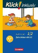 Cover-Bild zu Klick! inklusiv - Grundschule / Förderschule, Mathematik, 1./2. Schuljahr, Zahlenraum bis 10, Themenheft 1 von Burkhart, Silke