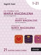 Cover-Bild zu Die Symbole von Maria Magdalena und ihren Weggefährten mit Guidebook Deutsch von Auer, Ingrid