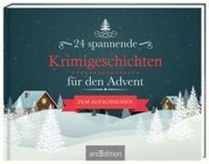 Cover-Bild zu 24 spannende Krimigeschichten für den Advent