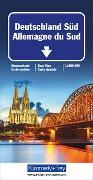 Cover-Bild zu Deutschland Süd Strassenkarte. 1:500'000 von Hallwag Kümmerly+Frey AG (Hrsg.)