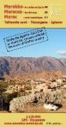 Cover-Bild zu K13: Tafraoute nord - Tizourgane - Igherm 1:120.000 GPS - Waypoints. 1:120'000 von Conrad, A. B.