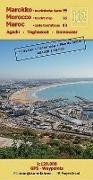 Cover-Bild zu J12: Agadir - Taghazout - Imouzzer 1:120.000 GPS - Waypoints. 1:120'000